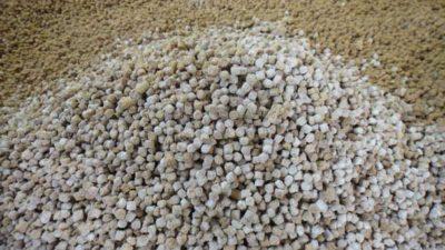 自家製の有機肥料づくり