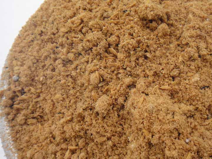発酵途中の米ぬか